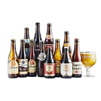 Trappist Ale Beer Mixed Case with 1 Free Chalice Glass - 12 Beers and 1 Glass - by Beer Hawk