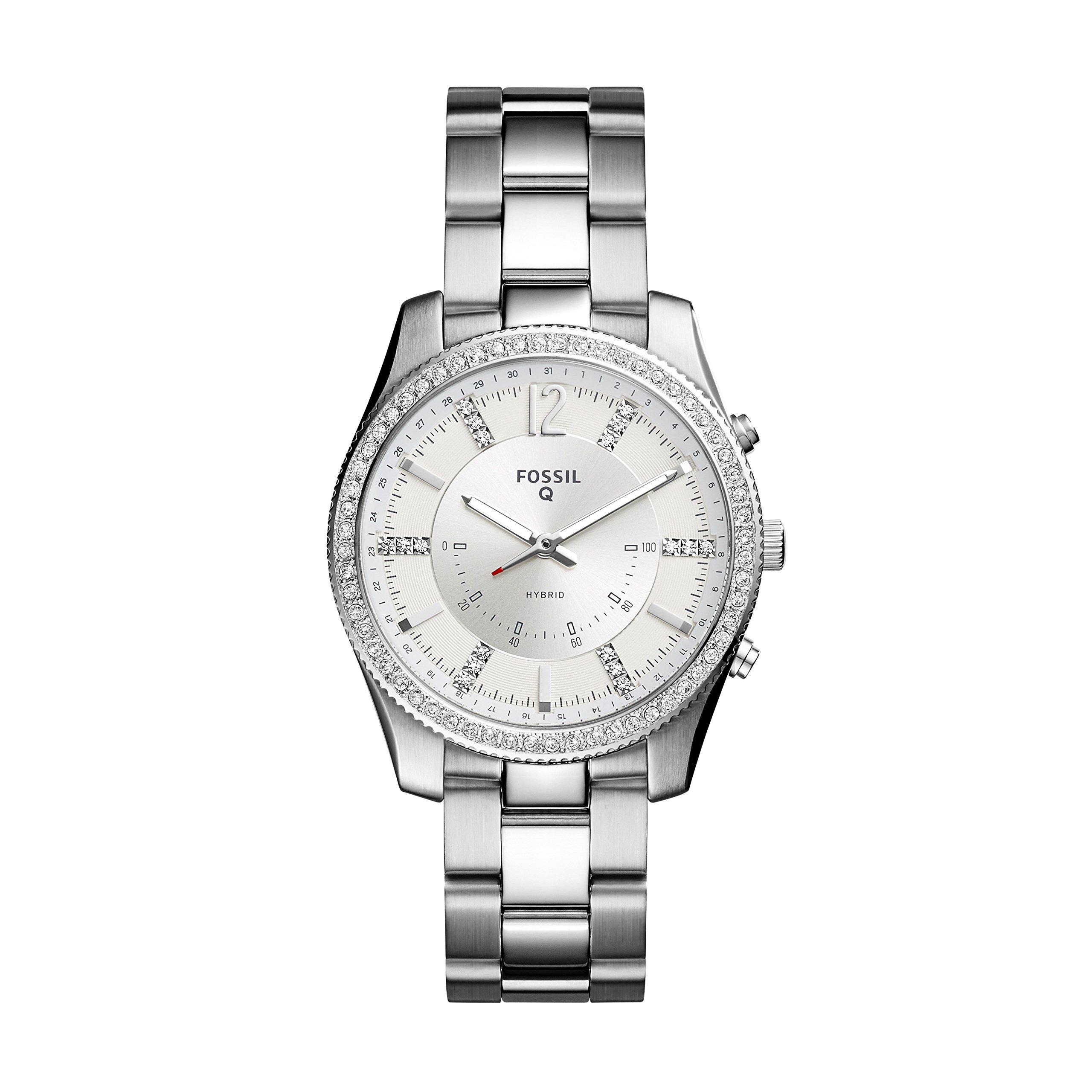 Fossil Hybrid Smartwatch - Q Scarlette Stainless Steel FTW5015