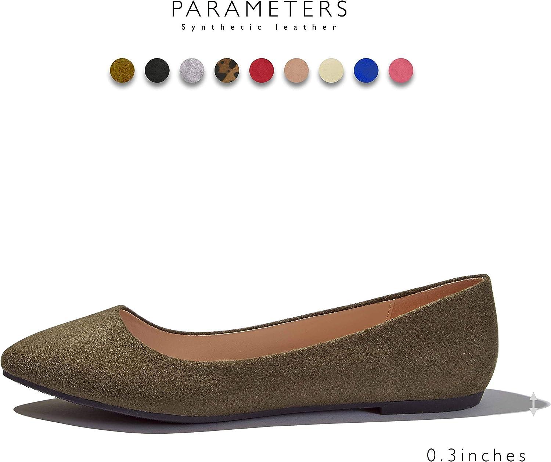 DailyShoes Ballet Flat Shoes Women Womens Classic Ballerina Slip On Flats Elastic Crossing Straps