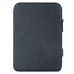 """MoKo 11 Inch Tablet Sleeve Case Fits iPad Pro 11 2018, iPad 10.2 2019, iPad Air 3 10.5"""", iPad 9.7 6th Generation, iPad Pro 10.5, Galaxy Tab 10.1"""" Polyester Bag, Fit Apple Smart Keyboard - Space Gray"""