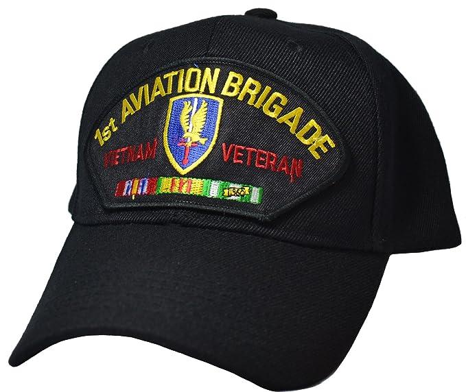 ef536bddea21e Image Unavailable. Image not available for. Color  Military Productions 1st  Aviation Brigade Vietnam Veteran Cap