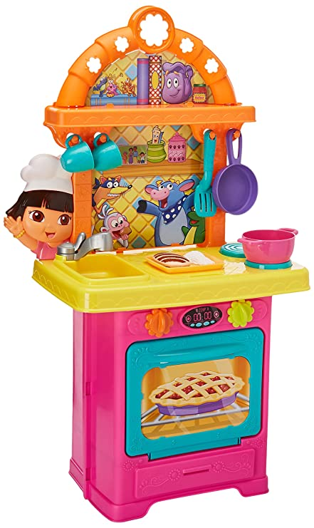 56118f7ba Fisher-Price Playhouse Dora la Exploradora Cocina Aventura de Dora ...
