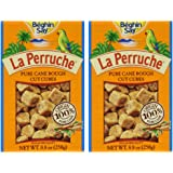 La Perruche Rough Cut Brown Sugar Cubes 8.8oz (Pack of 2)