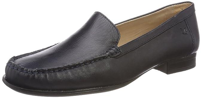 Caprice 24250, Mocassins (Loafers) Femme, Bleu (Ocean Nappa 855), 38 EU
