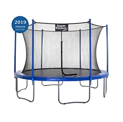 Smarte ressurser Upper Bounce UBSF01-12 Trampoline and Enclosure Set Equipped with BK-83