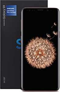 Samsung Galaxy S9 Certified Pre-Owned 64GB Black, 12 Month US Version