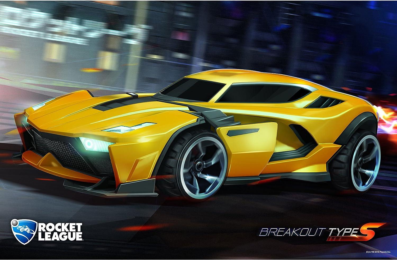 Amazon.com: JINX Rocket League Breakout Wall Poster, 28