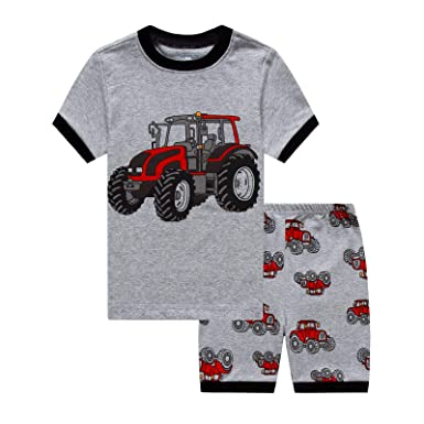 7e4f015a00d5 IF Pajamas Dinosaur Baby Boys Shorts Set Pajamas 100% Cotton Clothes ...