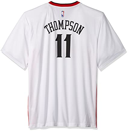 new arrival b63d4 62c8b adidas Klay Thompson Golden State Warriors NBA Men's White Officia Chinese  New Year Replica Jersey