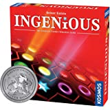 Ingenious   Ultimate Family Strategy Game   1 – 4 Players   Spiel Des Jahres-Nominated   Fun Abstract Tile Laying   Winner Golden Geek Award