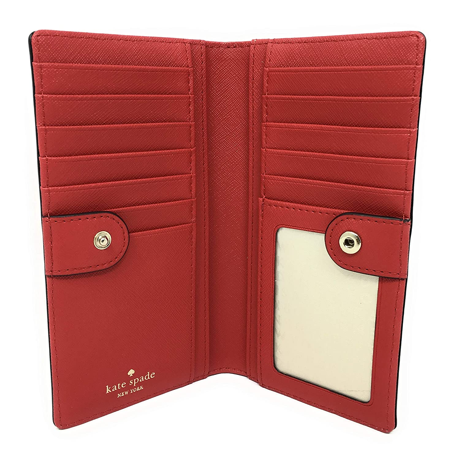 9a4de3110c6c Kate Spade New York Laurel Way Stacy Leather Wallet (Hot Chili Red):  Amazon.ca: Clothing & Accessories