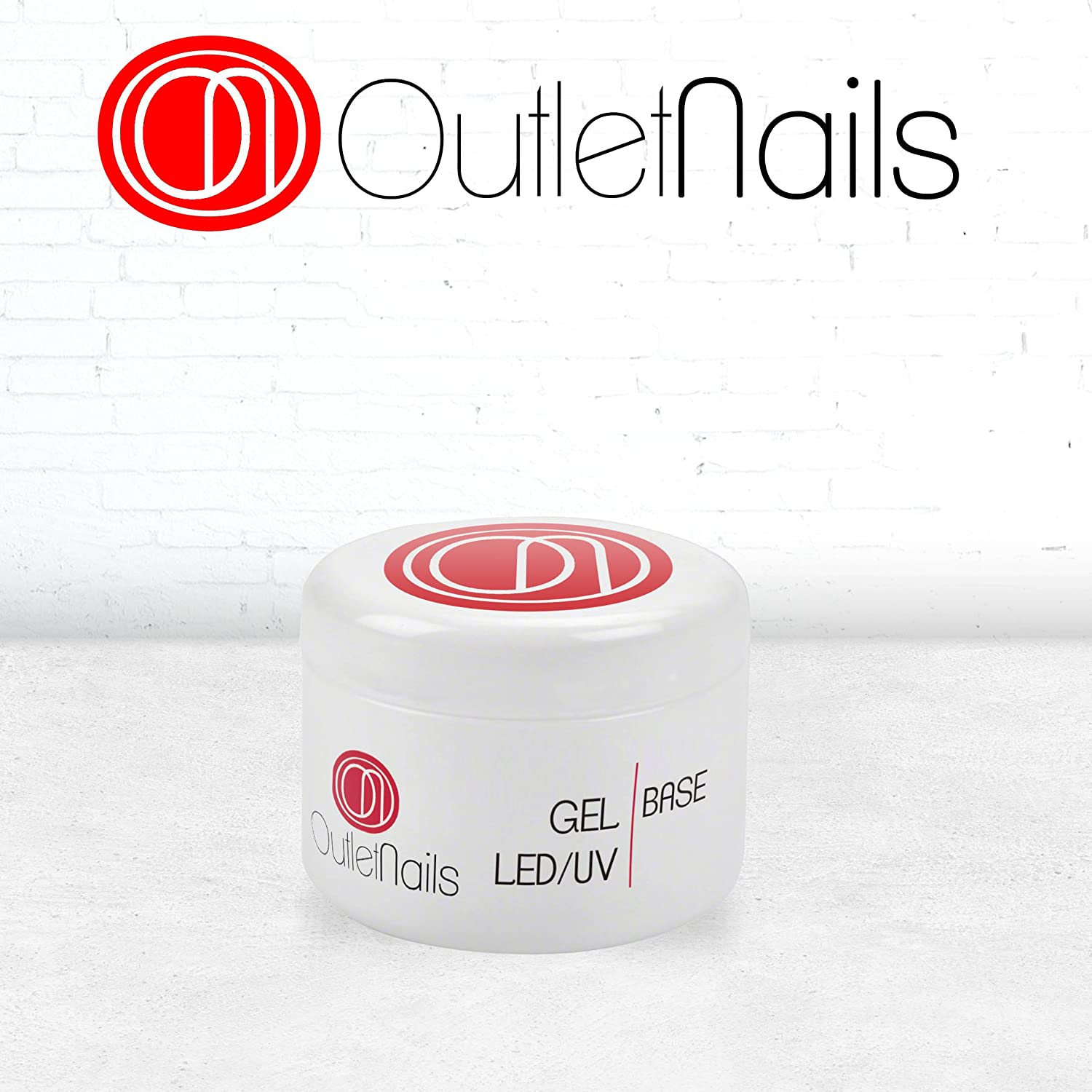 Gel Base UV/LED 15ml/Gel para Uñas de gel/Bonder Gel/Base Gel para uñas 15g Ser Beauty S.L.