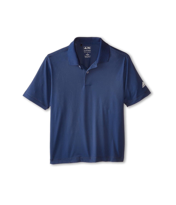 [アディダス] adidas Golf Kids ボーイズ Solid Jersey Polo (Big Kids) トップス Night Marine LG (12-14 Big Kids) [並行輸入品]   B003XWJFJ4