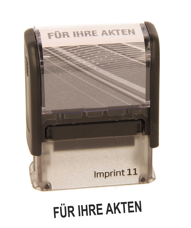 von stempel-fabrik Lagertext Stempel Versendet Dormy Imprint 11