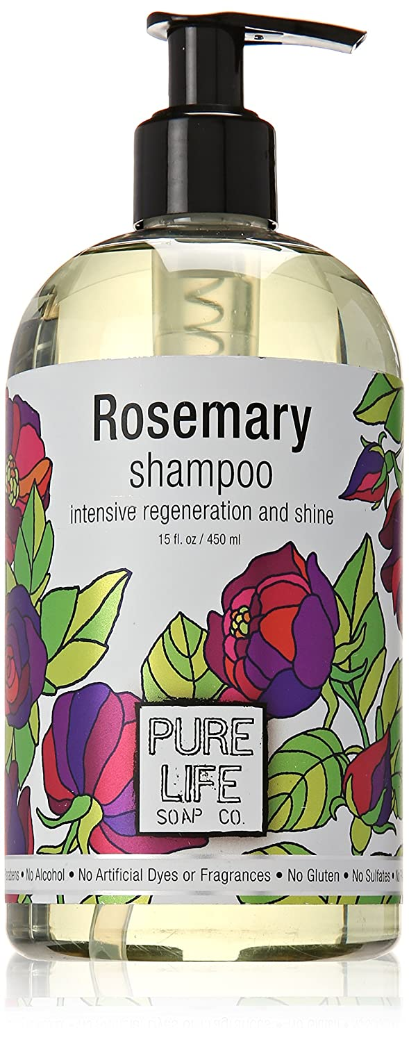 Pure Life Soap Co. - Rosemary Shampoo - 15 oz