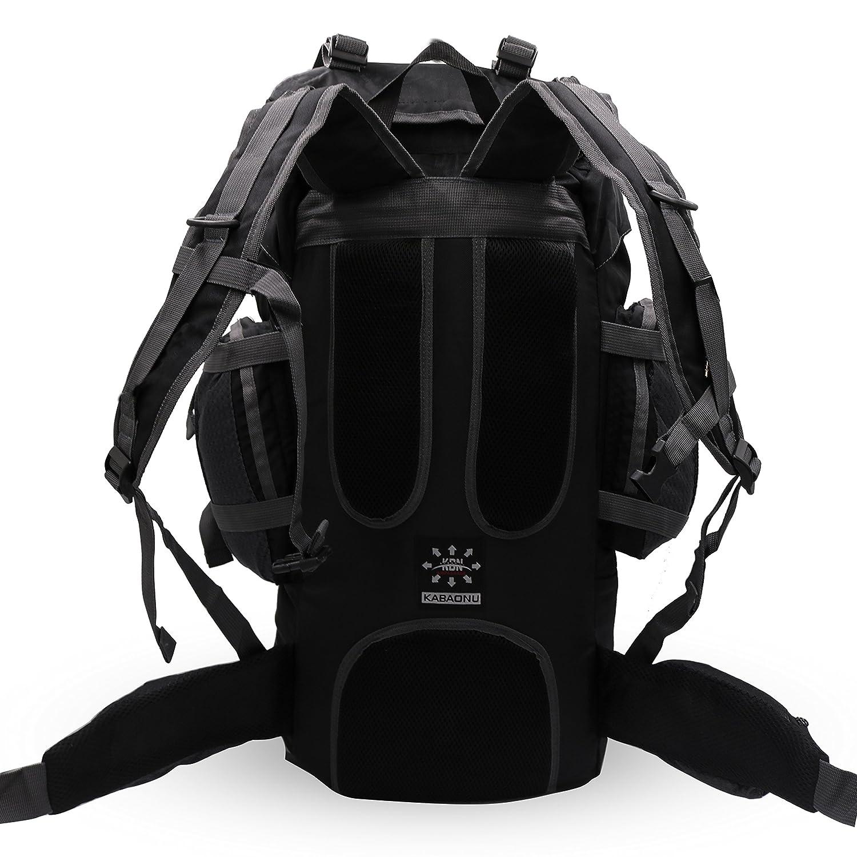 36b283e52602 Mooedcoe 75L Internal Frame Hiking Backpack for Outdoor Camping ...