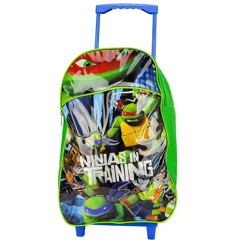 Childrens Large Premium Teenage Mutant Ninja Turtles Trolley Bag ...