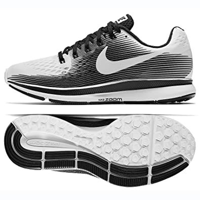 the best attitude 88b3f d2b69 NIKE WMNS Air Zoom Pegasus 34 LE 883269-100 White/Black Women's Running  Shoes (7.5)