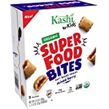 Kashi by Kids, Super Food Mixed Berry Bites, Soft Baked Organic Snacks, 5.6oz, 1.13 Ounce (Pack of 25)