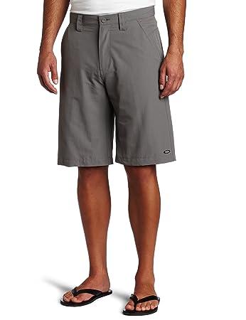 oakley shorts  Amazon.com: Oakley Men\u0027s Take Solid Flat Front Short (Sheet Metal ...