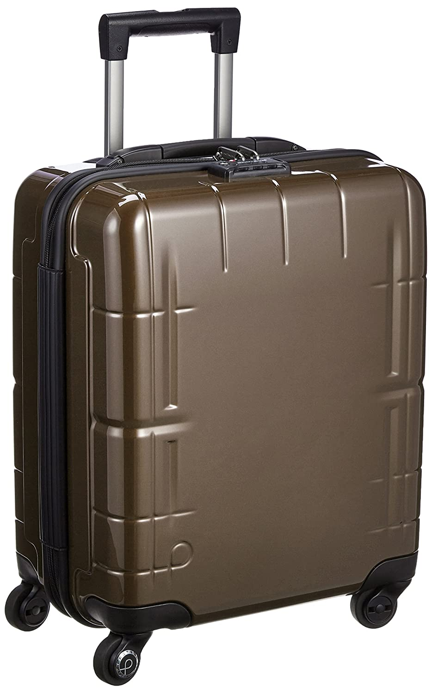 [プロテカ] 3年保証付 日本製スーツケース スタリアV 37L 機内持込可 機内持込可 保証付 37L 45cm 3.1kg 02641 B01BTQW71Sショコラブラウン