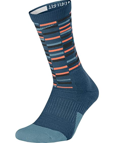 watch 9f61e 8adde Nike Dry Elite 1.5 Crew Basketball Socks (1 Pair) (SM (4-