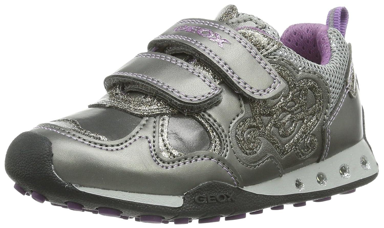 Geox JR New Jocker Girl Lighted Fashion Sneaker (ToddlerLittle KidBig Kid)