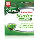 Scotts Turf Builder Starter Food for New GrassFL - 1,000 sq. ft., Lawn Fertilizer for New Lawns and Reseeding, Improves…