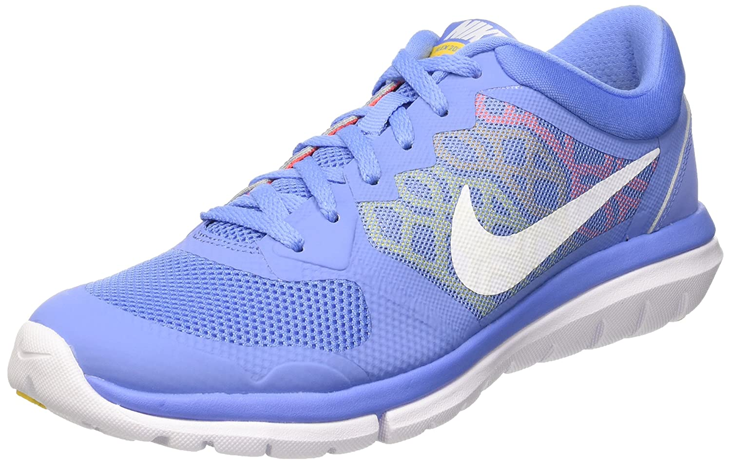 8bfb85d2c89a4 NIKE Women s Flex Run 2015 Running Shoes Multicolour Size  6  Amazon.co.uk   Shoes   Bags