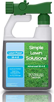 Simple Lawn Solutions Advanced Concentrated Spray Organic Lawn Fertilizer