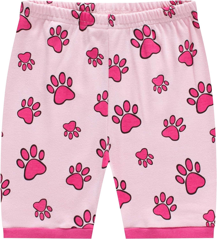 MIXIDON Girls Pajamas Summer Short Sets Sleepwear 100/% Cotton Toddler Pjs Clothes Size 2-10 Years