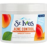St. Ives Acne Control Face Scrub, Apricot, 10 oz (Pack of 2) (Packaging may vary)