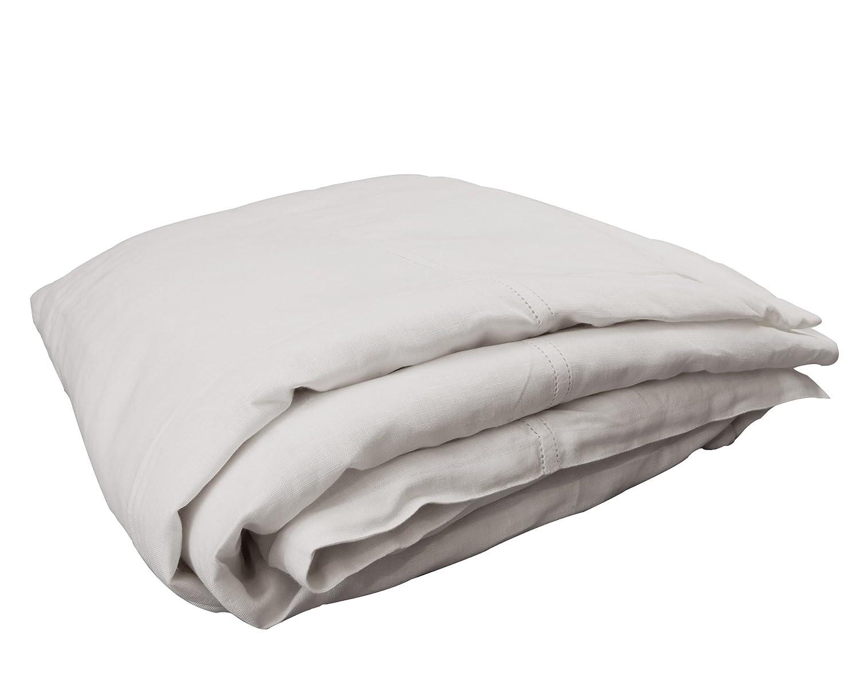 100% Pure Linen Duvet Cover Queen: 90