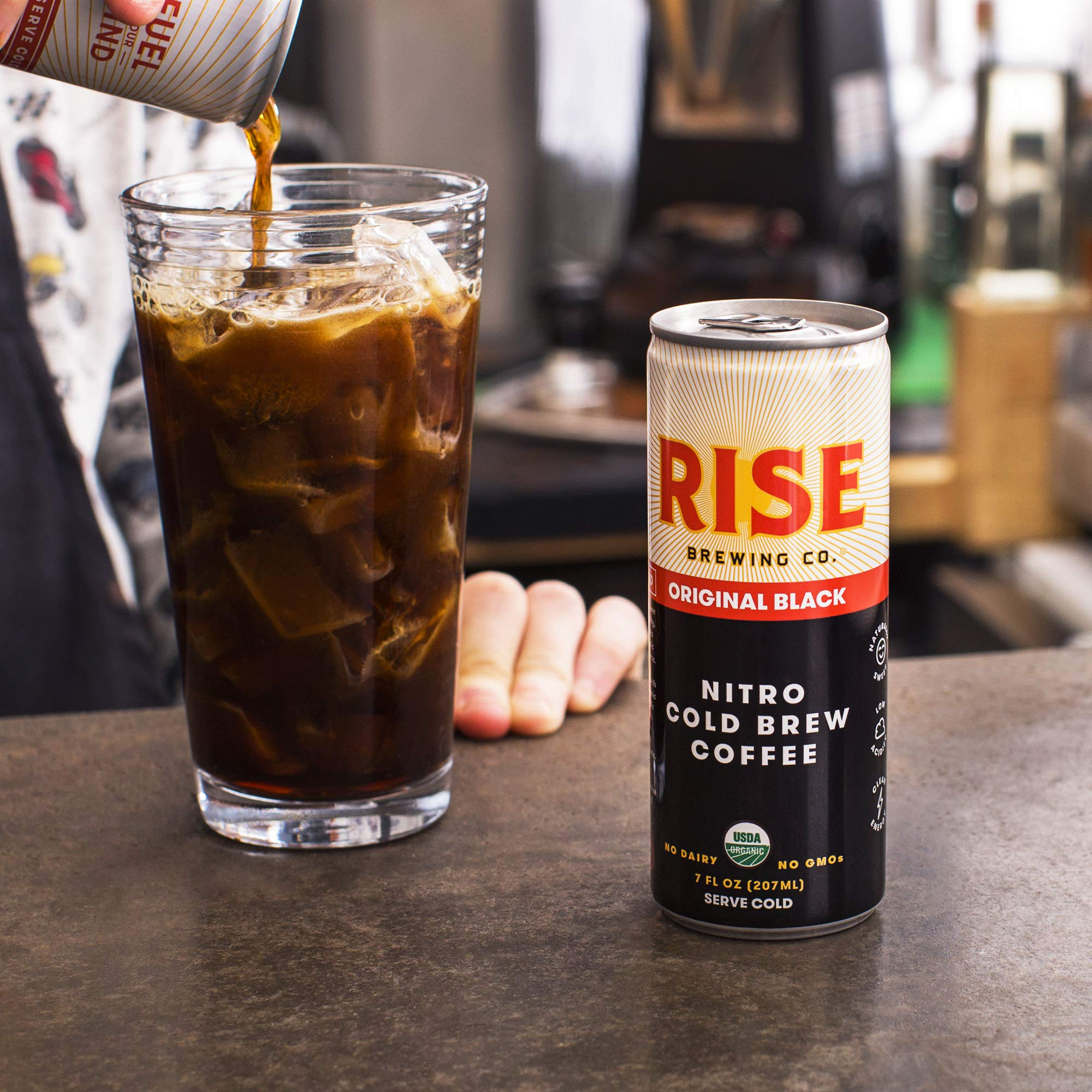 TableTop King 7 oz. Original Black Nitro Cold Brew Coffee - 12/Case by TableTop King (Image #3)