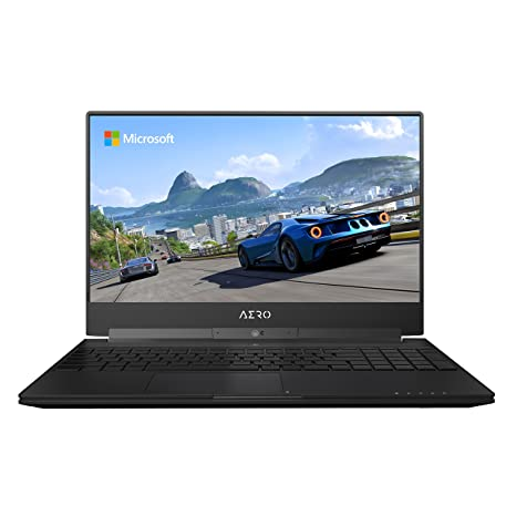 "GIGABYTE Aero 15W v8-BK4 15"" 144Hz FHD Thin Bezel X-Rite i7-8750H GeForce GTX 1060 16G RAM 512GB SSD 94.24Wh Gaming Laptop Computers & Accessories at amazon"