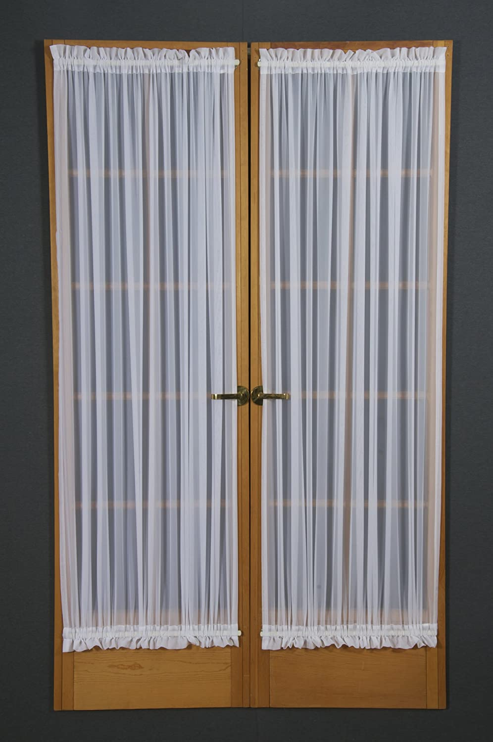 40-Inch Champagne Kwitman and Son Voile Sidelight D