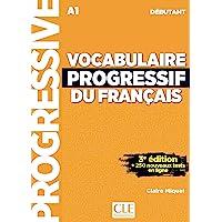 Vocabulaire progressif du français - Niveau débutant (A1) - Livre + CD + Appli-web - 3ème édition: Livre A1 + CD + Appli
