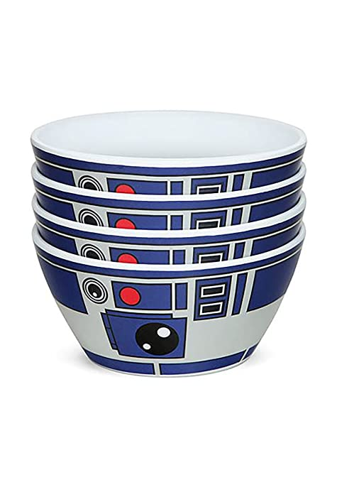 R2D2 R2 D2 RETRO STONEWARE CLASSIC STAR WARS  BREAKFAST CEREAL SOUP BOWL