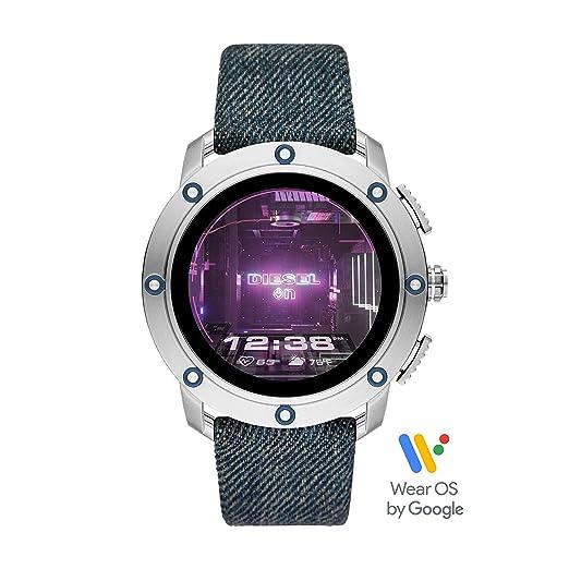 Amazon.com: Reloj Smartwatch Hombre Diesel Axial DZT2015 ...
