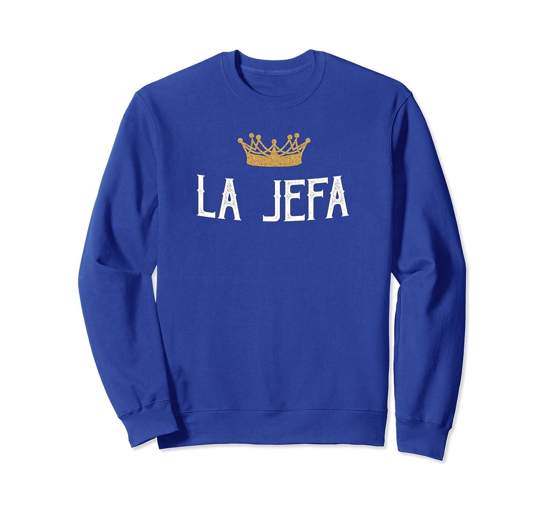 la jefa sweatshirt - Viva Mexico Womens apparel-alottee gift
