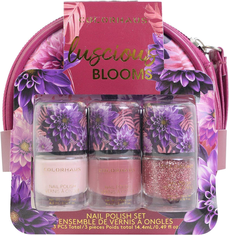 Colorhaus Luscious Blooms Nail Polish Set 1