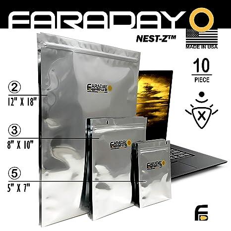Bolsas para ordenador portátil de Faraday, bolsas solares ...
