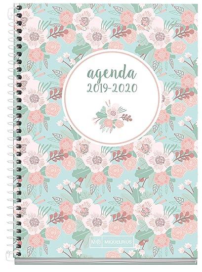 Miquelrius Agenda Escolar con espiral 19/20 Semana Vista