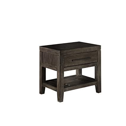 Casana Furniture Albany 1 Drawer Nightstand With USB Port
