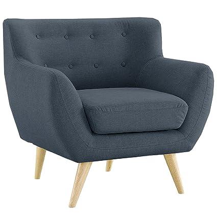 Mid Century Modern Style Sofa / Love Seat Red, Grey, Yellow, Blue