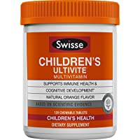 Swisse Ultivite Daily Multivitamin for Children, Orange Flavored |Supports Immune...