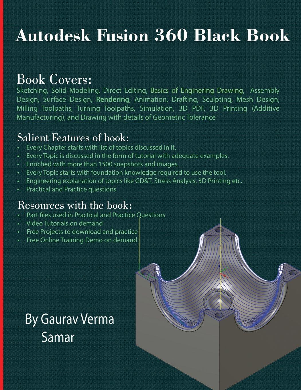 Download Autodesk Fusion 360 Black Book pdf