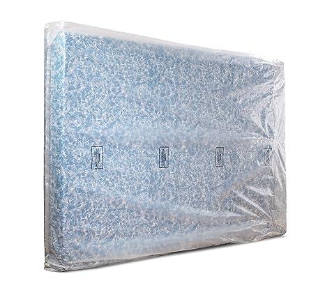 Direct Manufacturing Bolsa de colchón Resistente, tamaño Individual, Doble, Super King (Doble