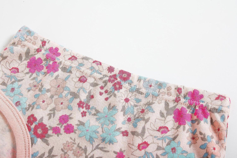 Baby Soft Cotton Underwear Little GirlsBriefs Toddler Training Undershirts