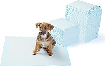 Amazon Basics Paquete de 150 protectores para entrenamiento de mascotas y cachorros, tamaño regular
